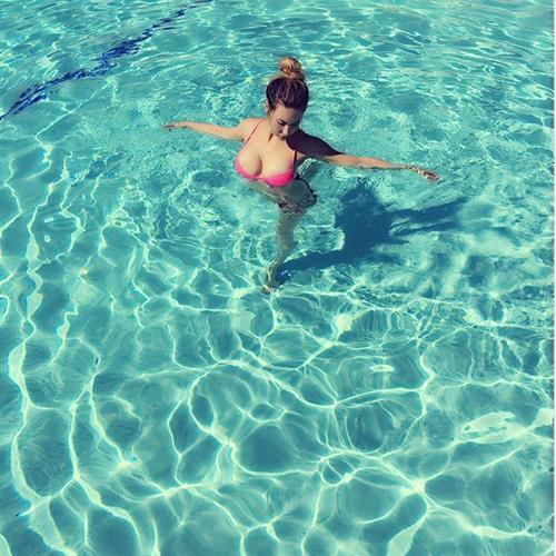 Chloe Rose Lattanzi in a bikini