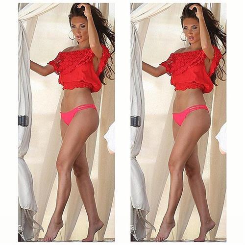Megan McKenna in lingerie