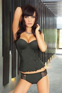 Dina Pandzic in lingerie