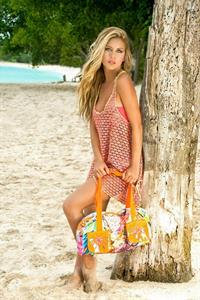 Lina Posada in a bikini