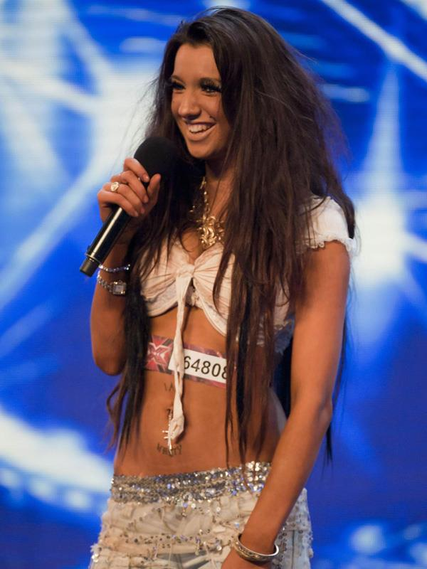 Chloe Khan in X Factor