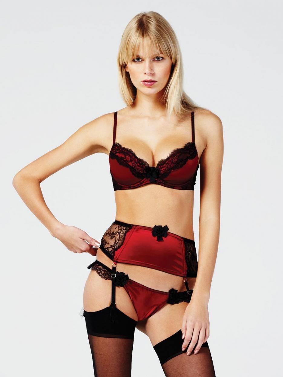 Kate Mahoney in lingerie