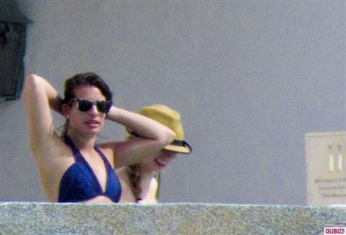 Lea Michele in a bikini