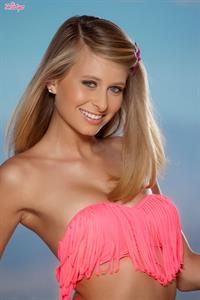 Lauren Clare in a bikini