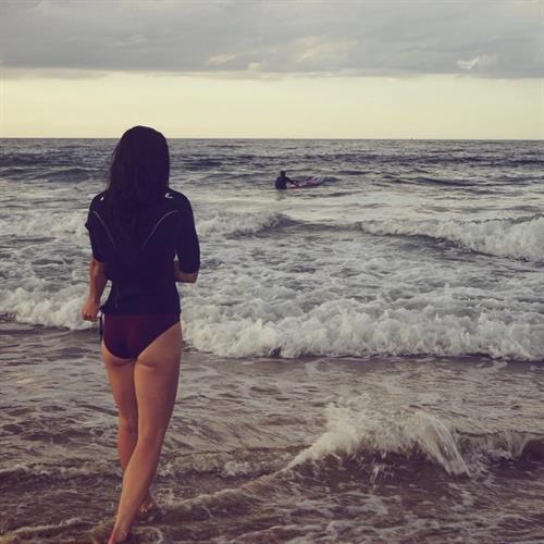 Michelle Jenneke in a bikini - ass