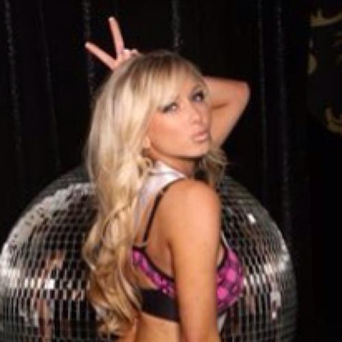 Crystal Hemphill in lingerie