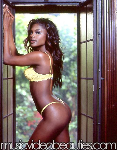 Lanisha Cole in lingerie - ass