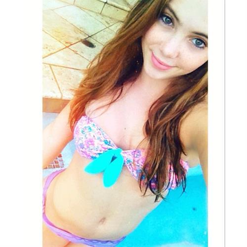 McKayla Maroney in a bikini taking a selfie