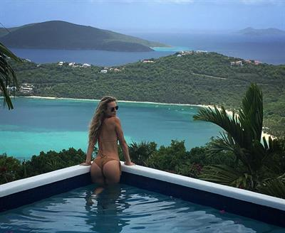 Hannah Ferguson in a bikini - ass