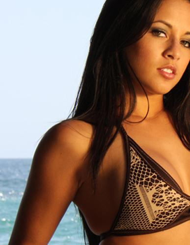 Ashley Monzon in lingerie