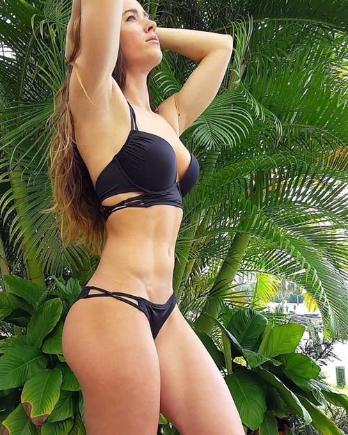Valentina Lequeux in a bikini