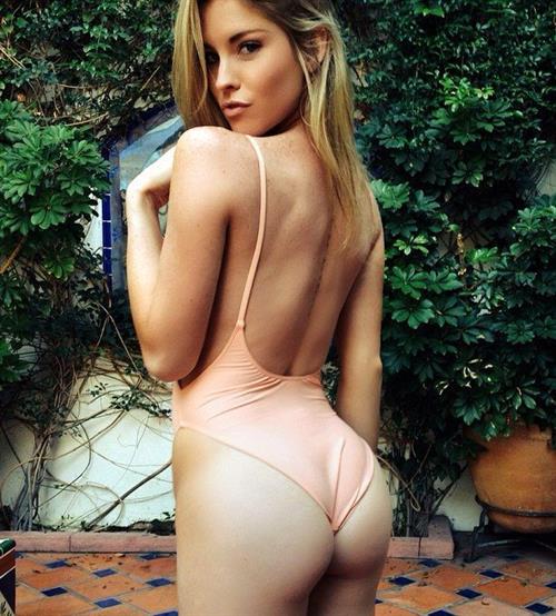 Carly Lauren in a bikini - ass