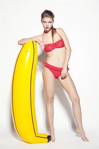 Dominika Szijartoova in a bikini