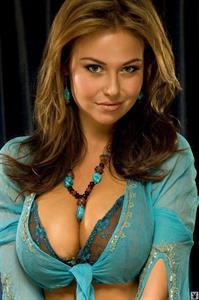 Anastasia Christen in lingerie