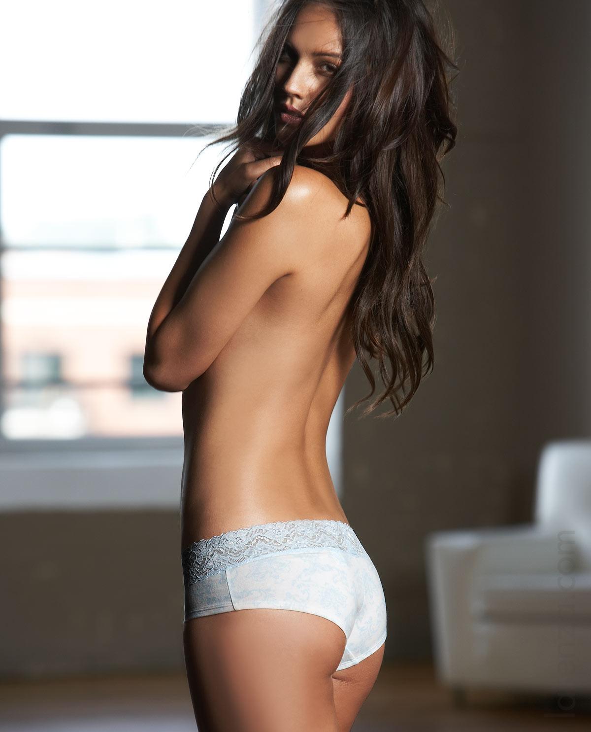 Rachelle Goulding in lingerie - ass