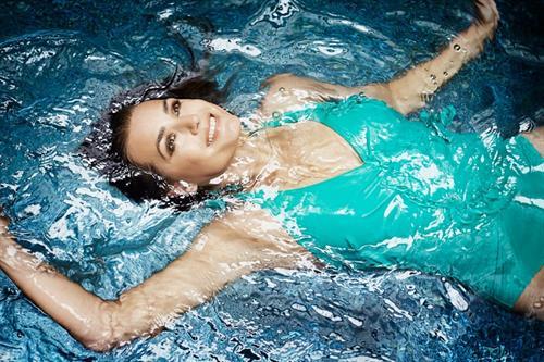 Yasmin Le Bon in a bikini