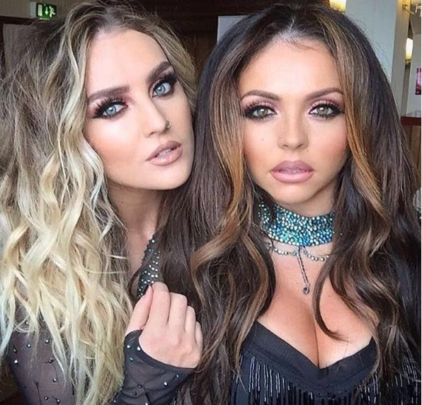 Perrie Edwards and Jesy Nelson selfie.