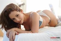 Anastasia Harris in lingerie