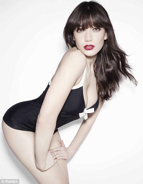 Daisy Lowe in a bikini