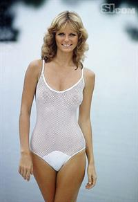 Cheryl Tiegs in a bikini - breasts