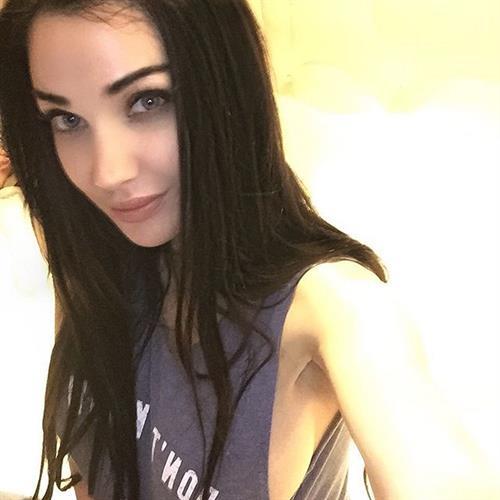 Kristina Basham taking a selfie