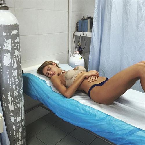 Sahara Ray in lingerie