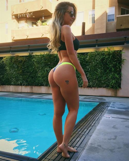 Emily Sears in a bikini - ass