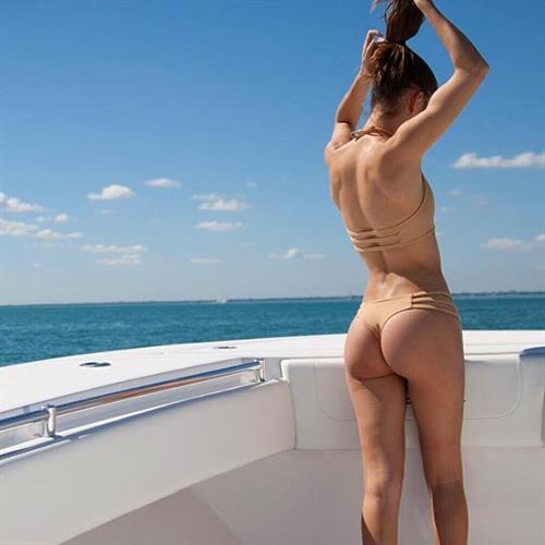 Betsy Alvarez in a bikini - ass