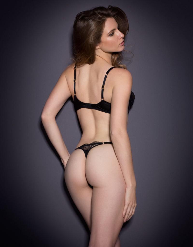 Georgina Howard in lingerie - ass