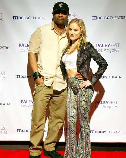 Maverick Hill & Paula Labaredas attend  Empire Panel  at PaleyFest @Dolby Theatre. (Hollywood, California.)