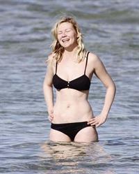 Kirsten Dunst in a bikini