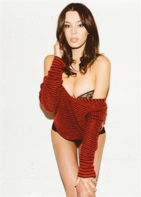 Denise Schaefer in lingerie
