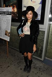 Zoe Kravitz at the Breaking Upwards Premier