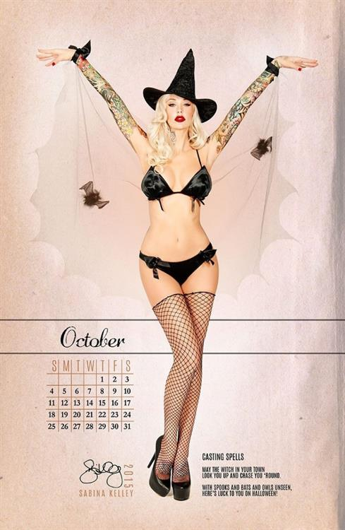 Sabina Kelley in a bikini