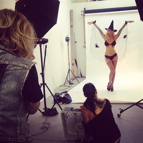 Sabina Kelley in a bikini