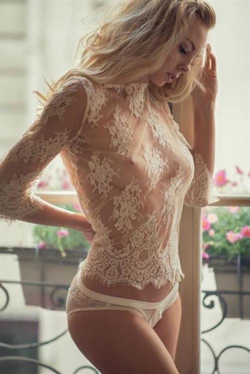 Rosamund Pike in lingerie