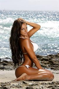 Whitney Jene in a bikini