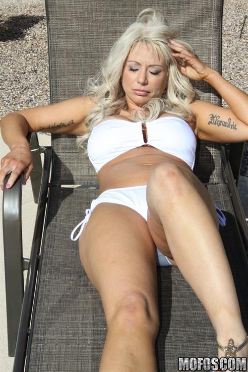 Isabella Rossa in a bikini