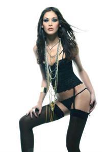 Dayana Mendoza in lingerie