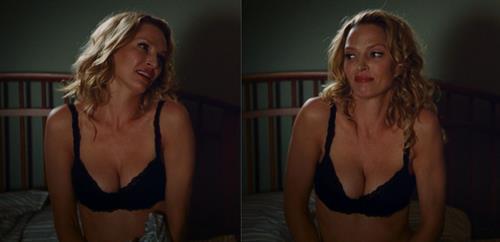 Uma Thurman in lingerie