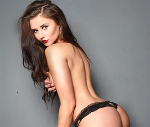 Sophie Bakewell in lingerie