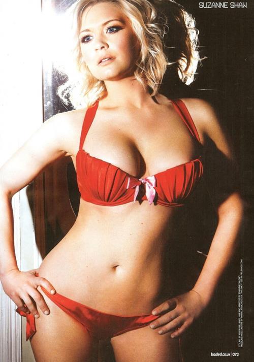 Suzanne Shaw in a bikini