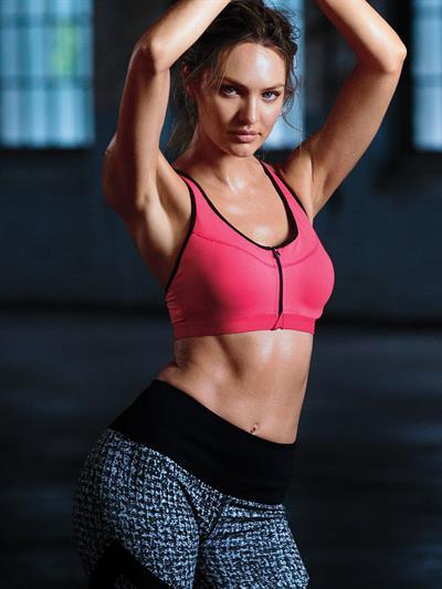 Candice Swanepoel for Victoria's Secret Sport