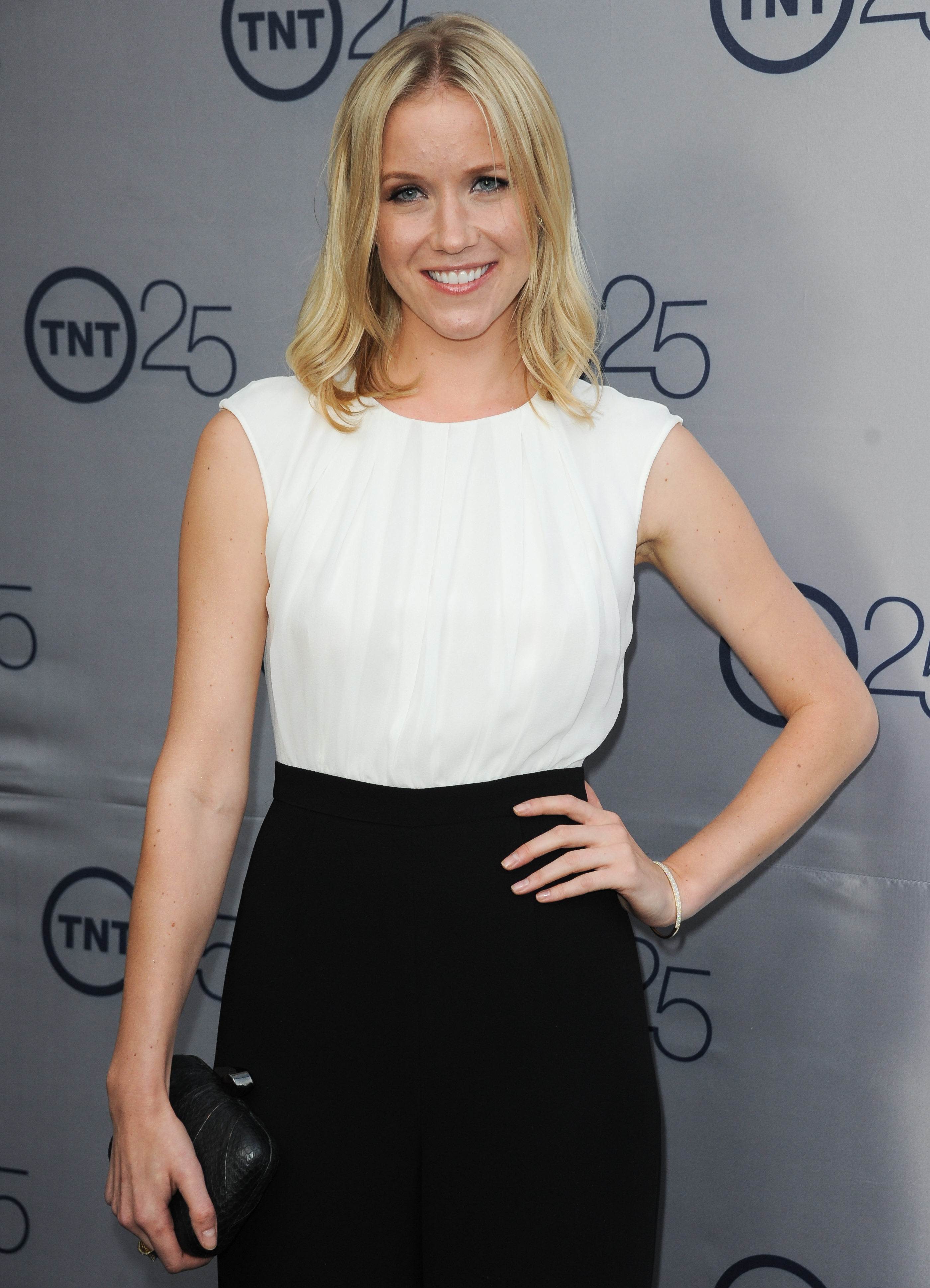 Jessy Schram TNT's 25th Anniversary Party -- Beverly Hills, Jul. 24, 2013