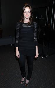 Alexis Bledel at the screening of Elektra Luxx on September 4, 2010
