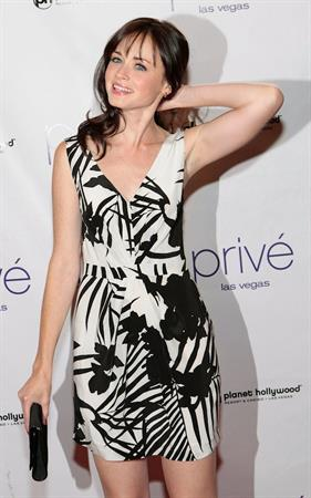Alexis Bledel's birthday party at the Planet Hollywood casino in Las Vegas
