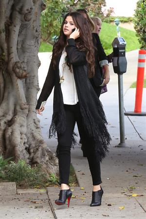Selena Gomez West Hollywood December 13, 2012