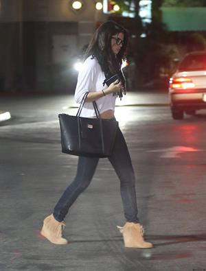 Selena Gomez at Yamato restaurant in Encino November 16, 2012