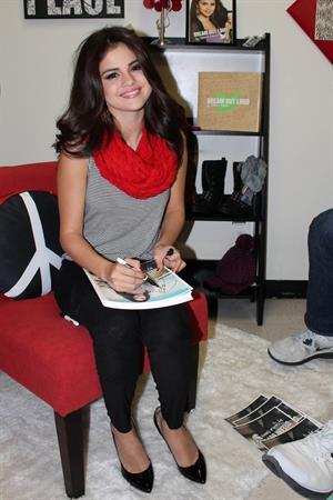 Selena Gomez At K-Mart November 12, 2012