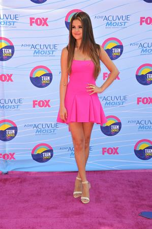 Selena Gomez at the 2012 Teen Choice Awards in Universal City (July 22, 2012)